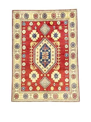 L'EDEN DEL TAPPETO Alfombra Uzebekistan Rojo/Multicolor 216 x 157 cm