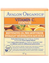 Avalon Organics Renew Avalon Vitamin C Rejuvenating Oil-Free Moisturizer, 2-Ounce Bottle