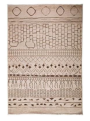 Darya Rugs Moroccan Oriental Rug, Peach, 5' 10