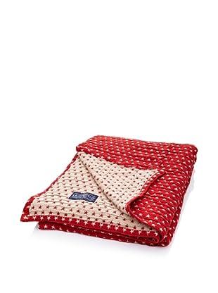 Lexington Company Colcha Estrellas (Rojo / Beige)