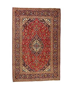 L'Eden del Tappeto Teppich M.Kashan rot/mehrfarbig 300t x t197 cm