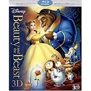 Beauty & The Beast 3D - Blu Ray
