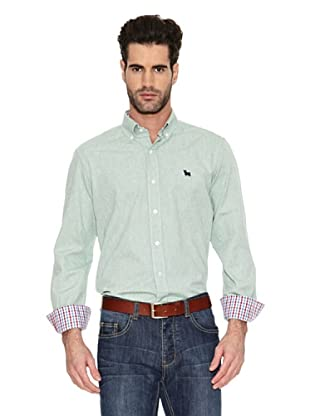 Toro Camisa Tejido Oxford (Verde)