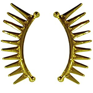 Deco Junction Gold-Plated Stud Earring For Women (Gold )