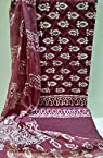 Rajasthani Hand Block Prints every day wear Maroon
