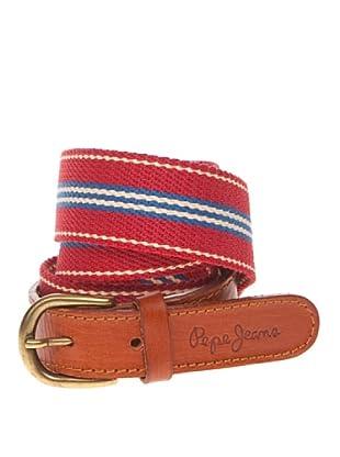 Pepe Jeans London Cinturón Istoben (Rojo)
