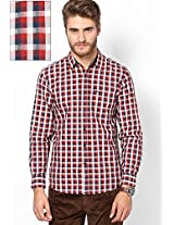 Red Casual Shirt Wrangler