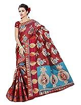Saree Sansarr Saree (7111_Red)