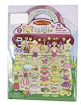 Puffy Sticker Play Set for Kids - Fairy