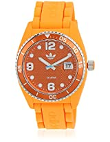 Adh6157 Orange Analog Watch