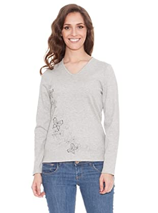 Tulchan Camiseta Winter Bouquet (gris jaspe claro)