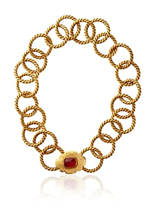 CHANEL Gripoix Choker Necklace