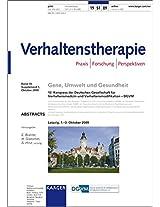 Gene, Umwelt Und Gesundheit: 12. Kongress der Deutschen Gesellschaft fur Verhaltensmedizin und Verhaltensmodifikation - DGVM, Leipzg, Oktober 2009: Abstracts. In Zusammenarbeit mi