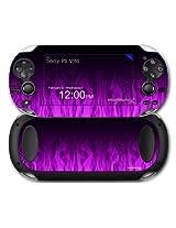 Sony Ps Vita Skin Fire Purple By Wraptor Skinz