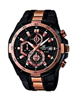 Casio Edifice Chronograph Black Dial Men's Watch - EFR-539BKG-1AVUDF(EX220)