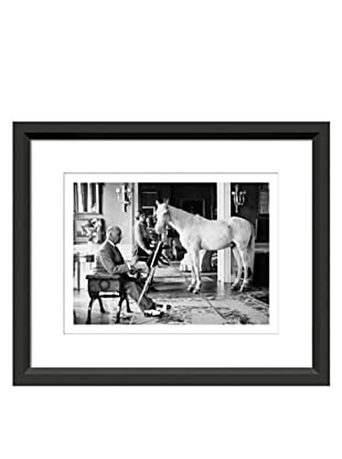 James Dashwood Pony Painter Framed Print, 19.5