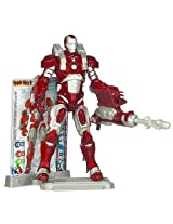 Iron Man Inferno Mission Armor - 3 Armor Cards Figure Stand Included