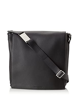 Dior Men's Pebbled Messenger Bag (Black)