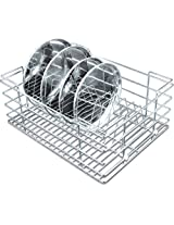Now & Ever Stainless Steel Kitchen Dish Rack , 15X20X8 Inches, Silver, 1-Piecee