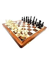 "craft store Wooden Chess Board 16""x16"" Ethnic Chess Set Hand Made King Size 4"""