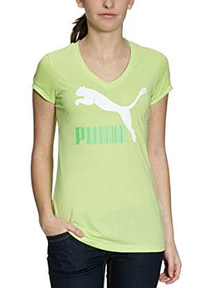 PUMA T-Shirt Logo (sharp green)