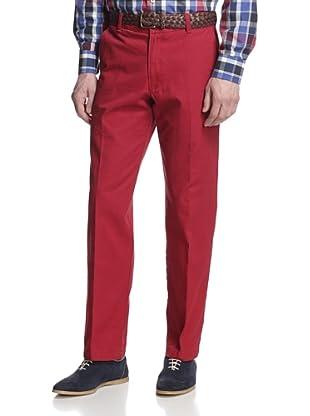 IZOD Men's Saltwater Straight Leg Pant (Rio Red)
