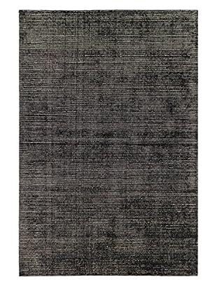 eCarpet Gallery Shimmer Rug, Black, 9' x 12'
