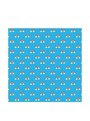 WallCandy Arts Rainbow Blue Removable Peel-And-Stick Wallpaper
