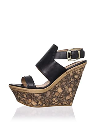 Modern Vintage Women's Valeree Wedge Sandal (Black)