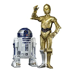 【クリックで詳細表示】コトブキヤ スター・ウォーズ ARTFX+ R2-D2 & C-3PO 1/10スケール PVC塗装済み簡易組立キット