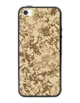 Cellet Camouflage Design TPU / PC Proguard Case for Apple iPhone 5 & 5s - Non-Retail Packaging