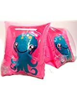 Play Day Ages 3 6 Clearly Octopus Pink Armband Water Wings