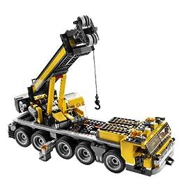 レゴ クリエイターから巨大なクレーン車が作れるセット。ハイウェイキャリアカーの組み替えモデル