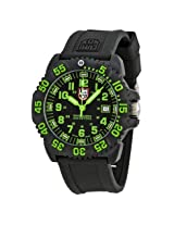 Luminox Seal Colormark 3050 Black Silicone Men's Watch - Lmsu3067