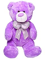 Archies Soft Toy Bear, Purple (60cm)