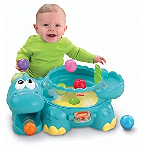 Fisher-Price Go Baby Go Poppity Pop Muscial Dino