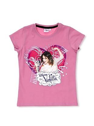 Licencias Camiseta Violetta (Rosa)