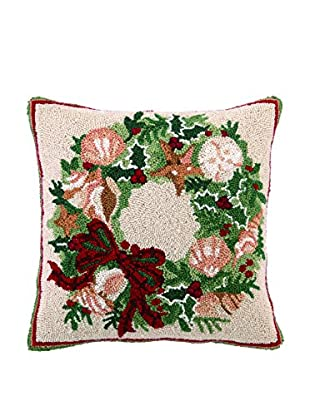 Peking Handicraft Seaside Holiday Throw Pillow, Multi