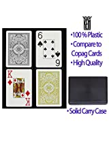 Arrow Black And Gold Kem Cards Wide Jumbo 2-Pack