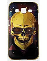 Premium Back Case Cover. Rich golden Finish beautifully printed Lion Face with open Mouth Compatible for Smart Phone Xiaomi Mi 4i