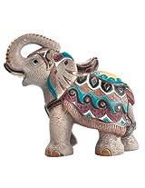 Rinconada Indian Elephant, Large Wildlife Figurine