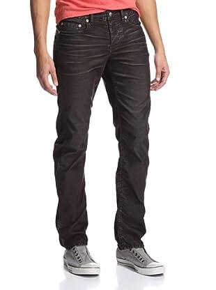 Stitch's Men's Barfly Slim Straight Corduroy Pant (Graphite)