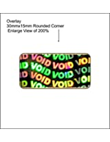 Ospac Void Hologram Stickers, 30 x 15 Mm, Pack of 3600
