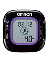 Omron Step Counter - Activity Monitor (HJ-313-AP), Black