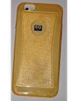 Fortune Glitter TPU For iphone 6 GOLD back case Transparent Color by Fortune [Limited Offer ]