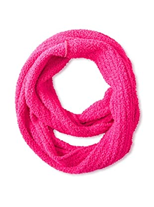 525 America Women's Textured Infinity Scarf, Wicked Pink