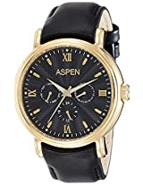 Aspen Analog (BLACK) Dial Men's Watch - AM0074