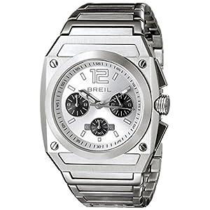Breil Milano Men's TW0690 Chrono Analog Silver Dial Watch
