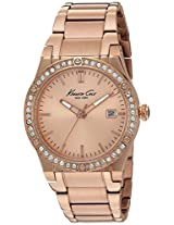 Kenneth Cole Classic Analog Pink Dial Women's Watch - 10022786