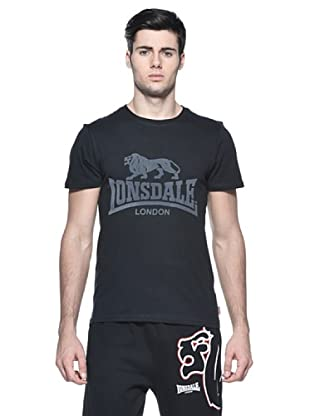 Lonsdale Camiseta Manga Corta (Negro)
